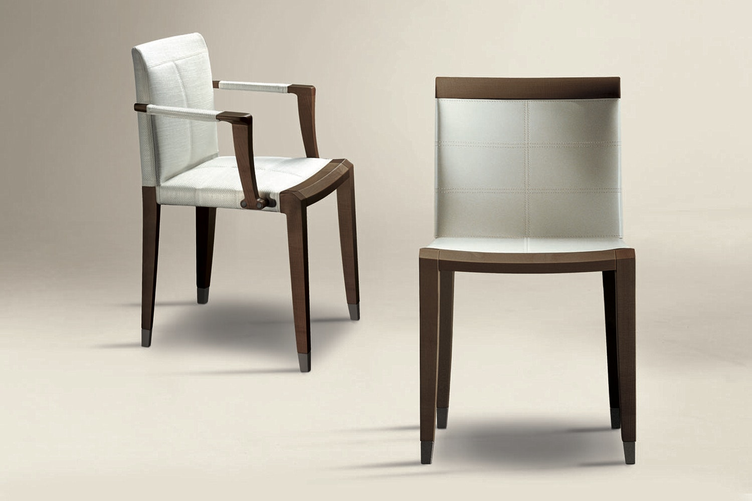 Aro Cuoio Chair by Chi Wing Lo for Giorgetti