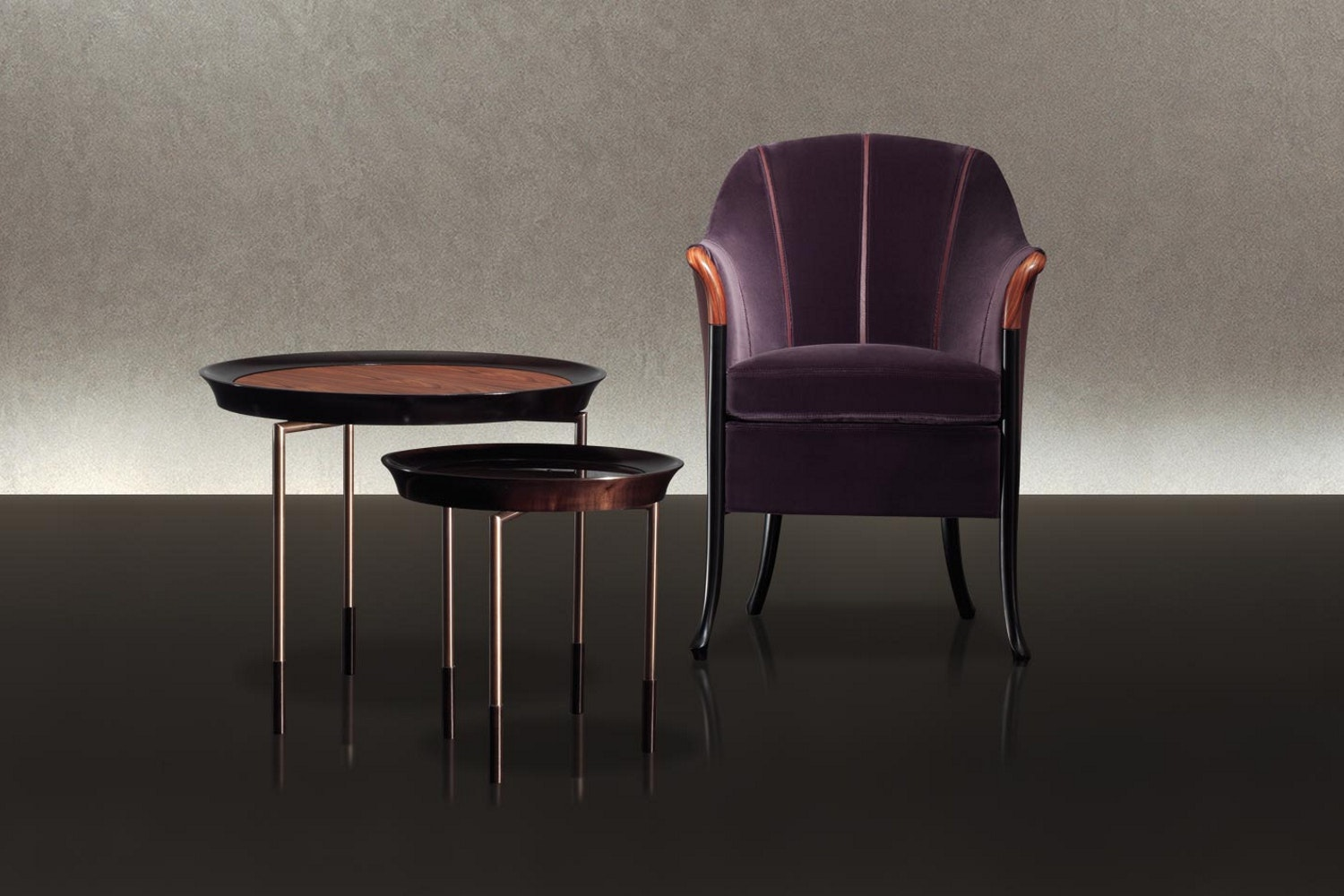Athene Side Table by Antonello Mosca for Giorgetti