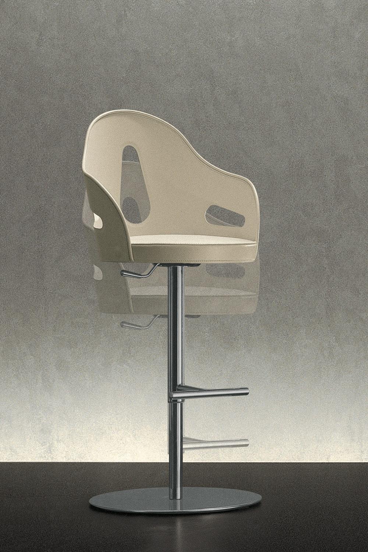 Dora Stool By Massimo Scolari For Giorgetti Space Furniture