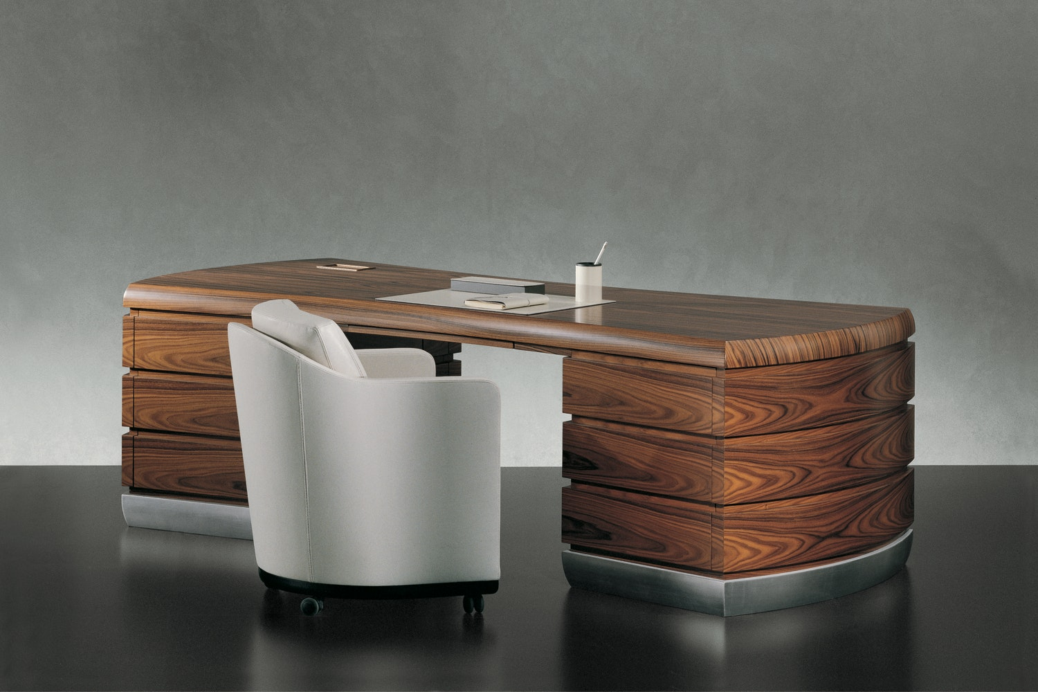 Exedra Desk by Leon Krier for Giorgetti