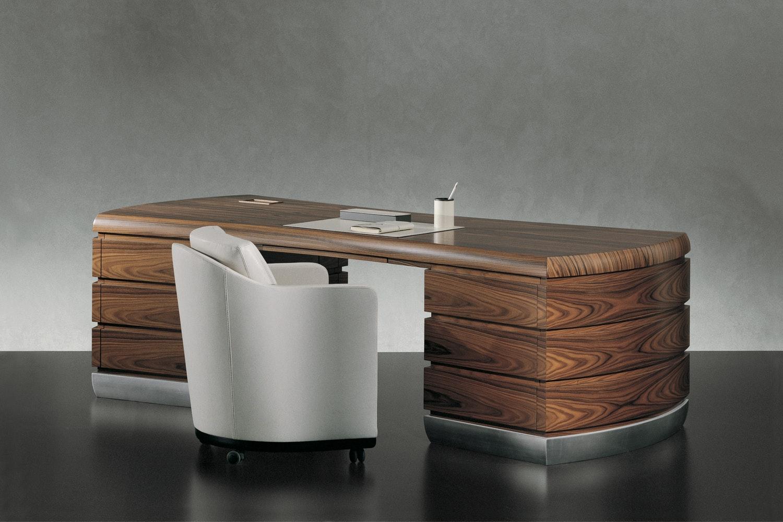 Exedra Desk by Leon Krier for Giorgetti