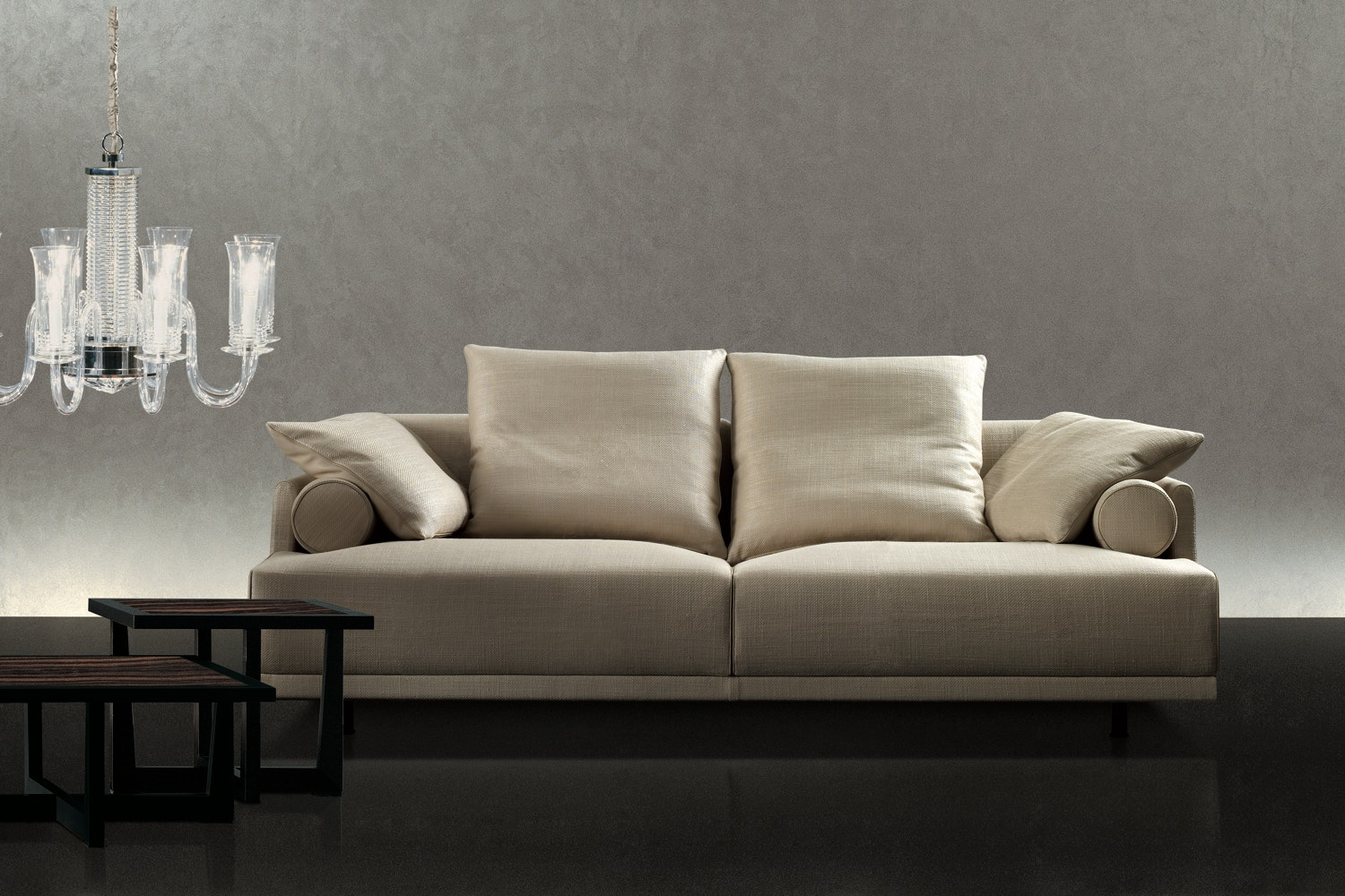 Maharaja Sofa by Antonello Mosca for Giorgetti