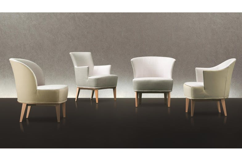 Moon Armchair & Ottoman by Antonello Mosca for Giorgetti