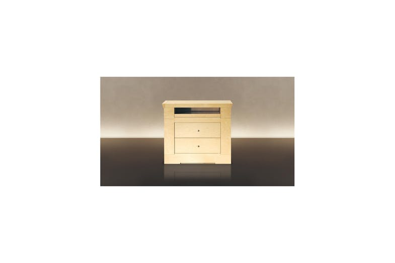 Oli Bedside Table by Chi Wing Lo for Giorgetti