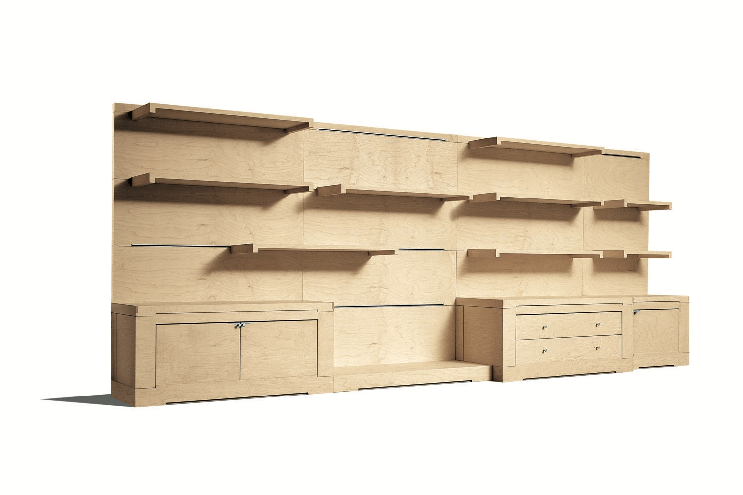 Oli Storage System by Chi Wing Lo for Giorgetti