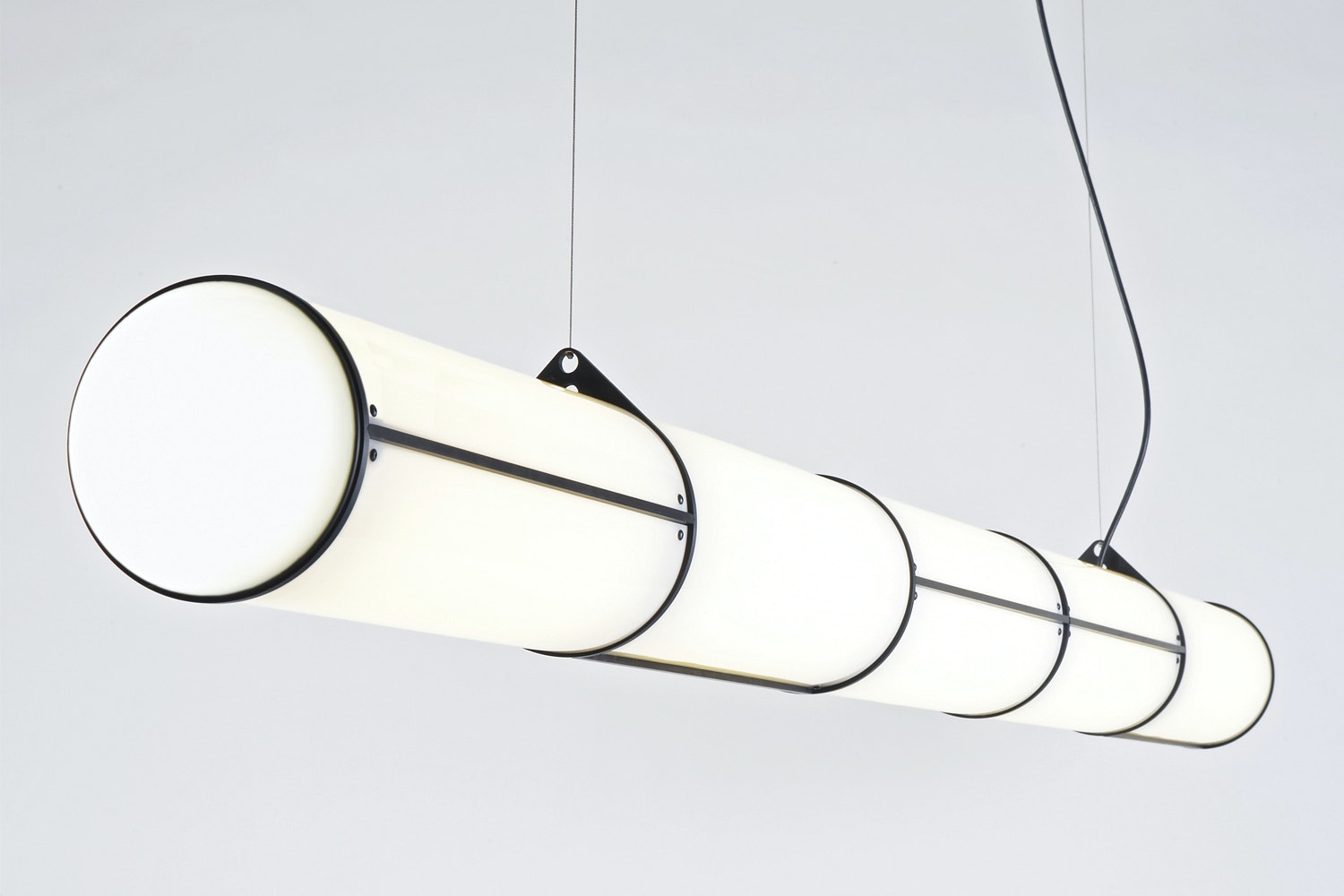 Endless - 5 Units Suspension Lamp by Jason Miller for Roll & Hill