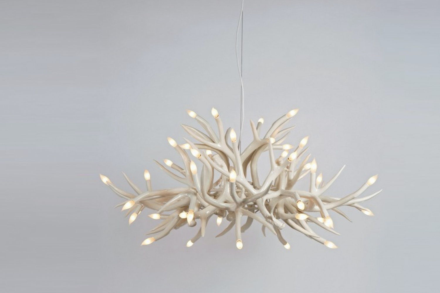 Superordinate Antler Chandelier - 24 Antlers by Jason Miller for Roll & Hill