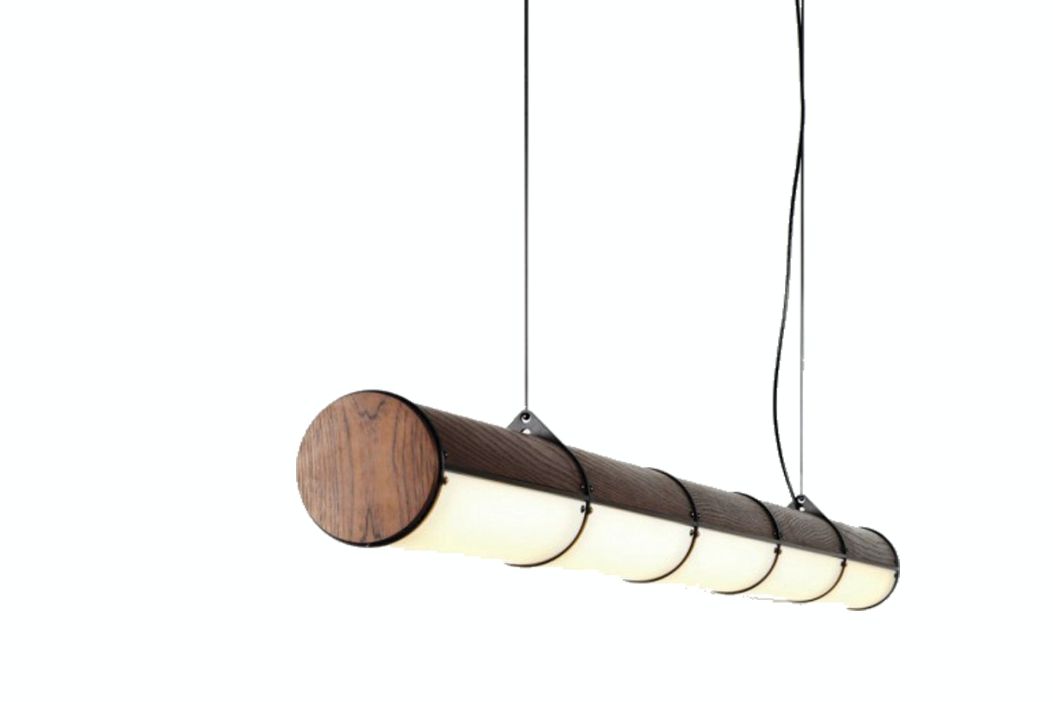 Woody Endless - 5 Units Suspension Lamp by Jason Miller for Roll & Hill