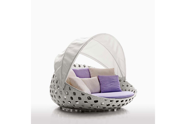Canasta Circular Armchair by Patricia Urquiola for B&B Italia