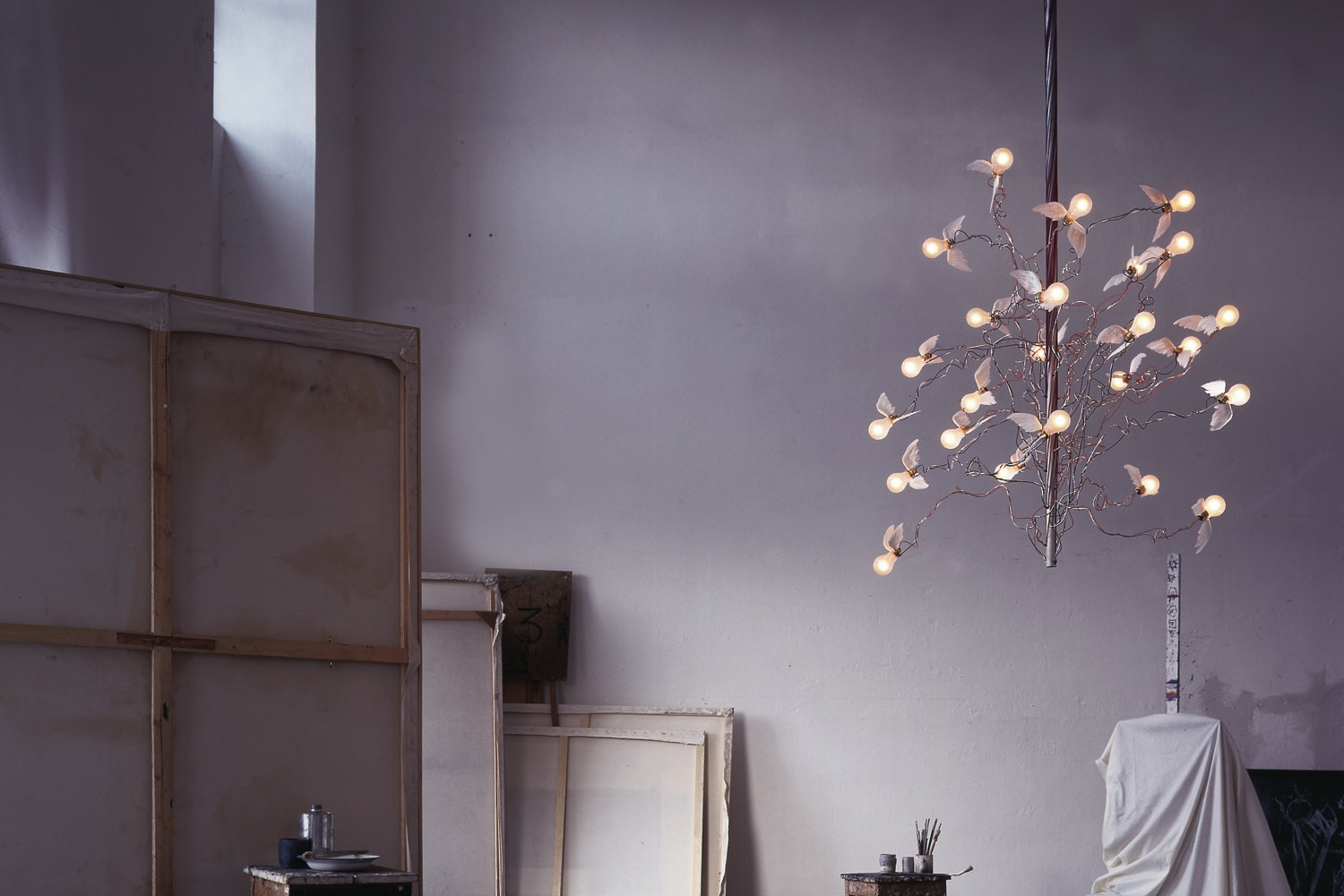 Birds Birds Birds Suspension Lamp by Ingo Maurer for Ingo Maurer