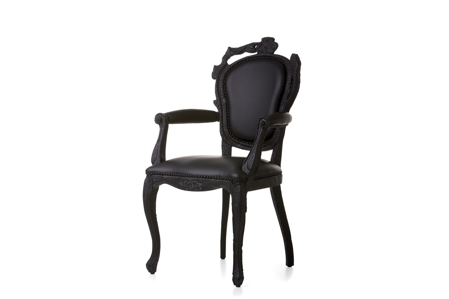 Smoke Dining Armchair by Maarten Baas for Moooi