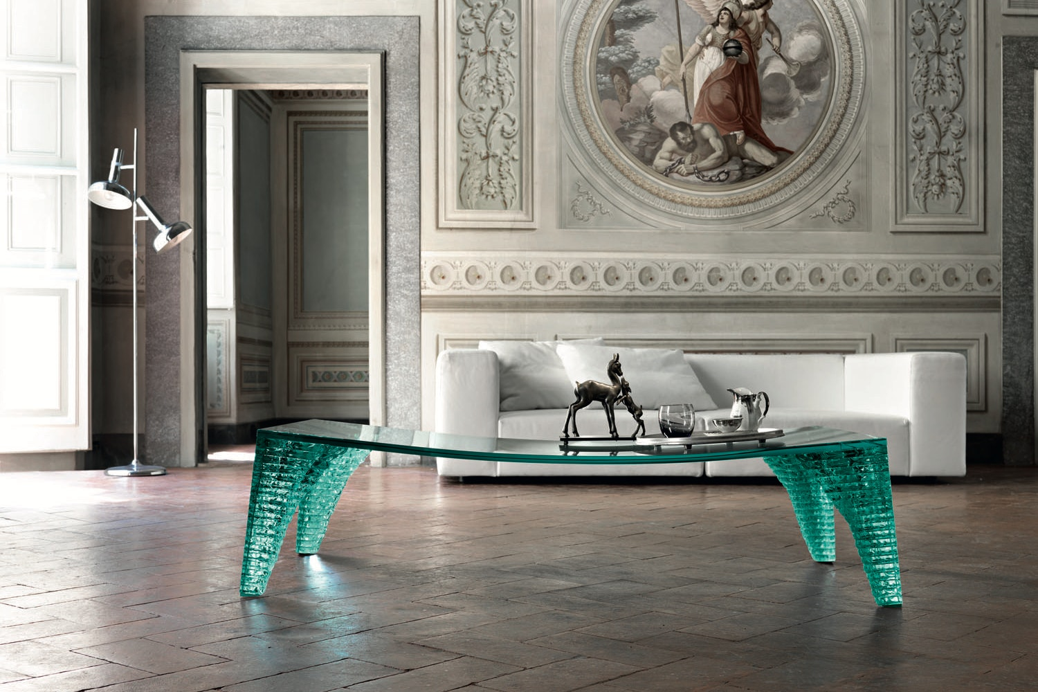 Atlas Coffee Table by Danny Lane for Fiam Italia