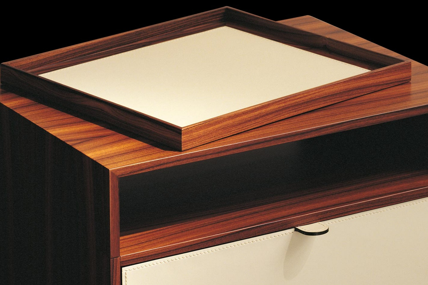 Mea Bedside Table by Chi Wing Lo for Giorgetti