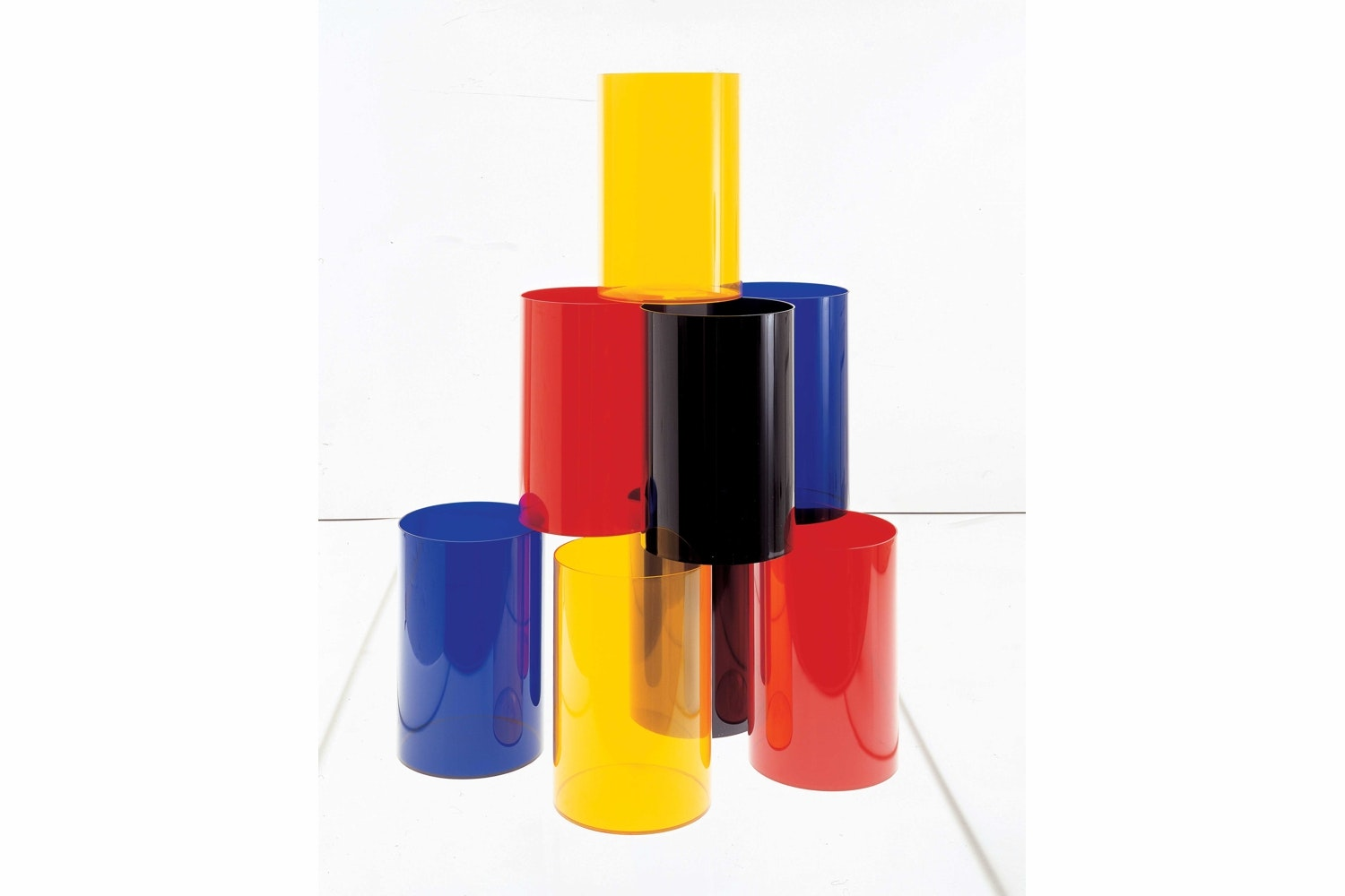 Waste Basket by Kartell Technical Office for Kartell