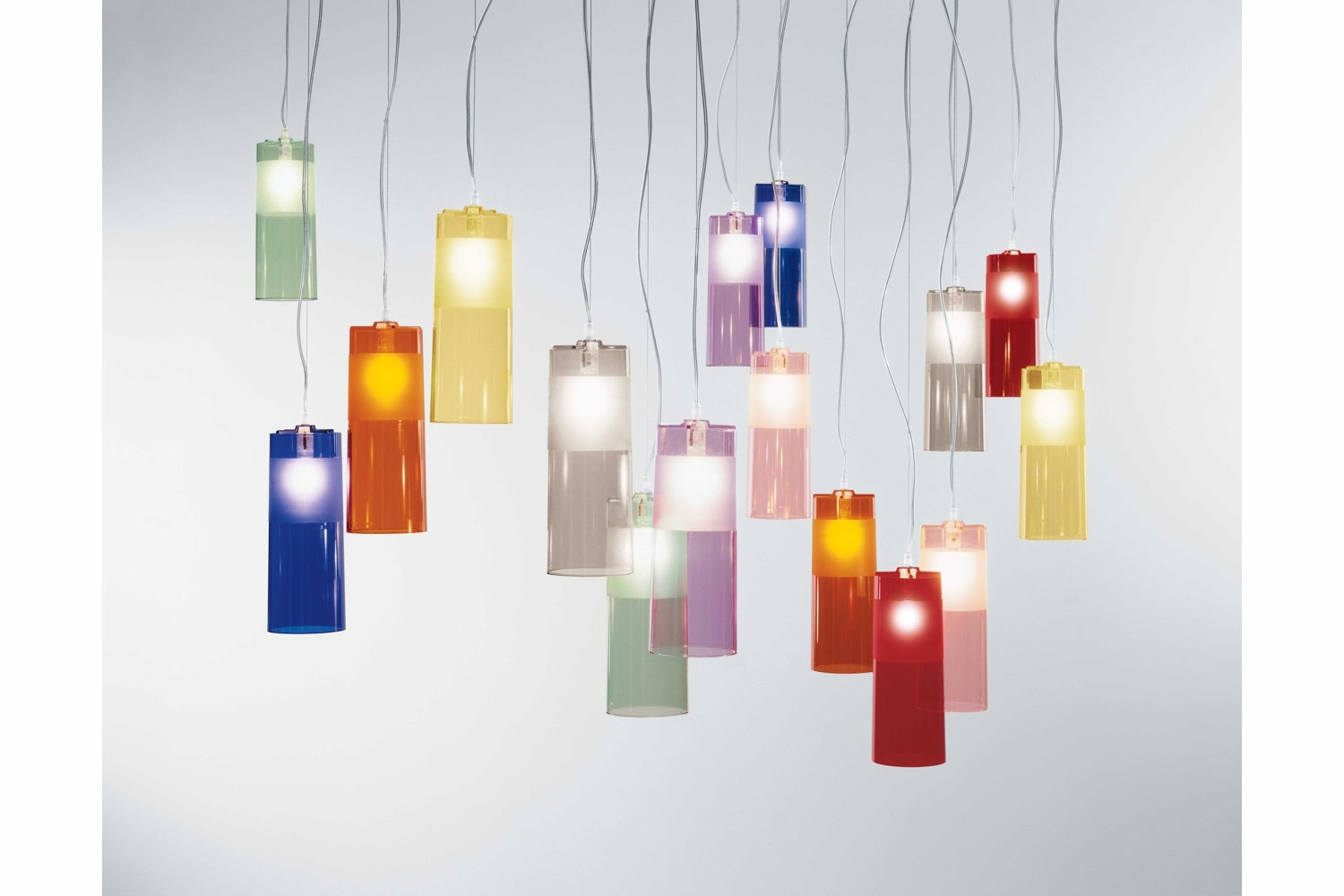 Easy Suspension Lamp by Ferruccio Laviani for Kartell