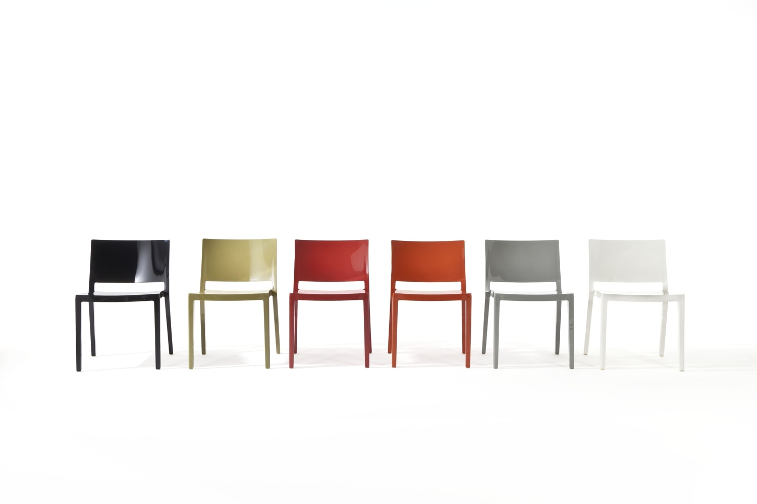 Lizz Chair by Piero Lissoni with Carlo Tamborini for Kartell