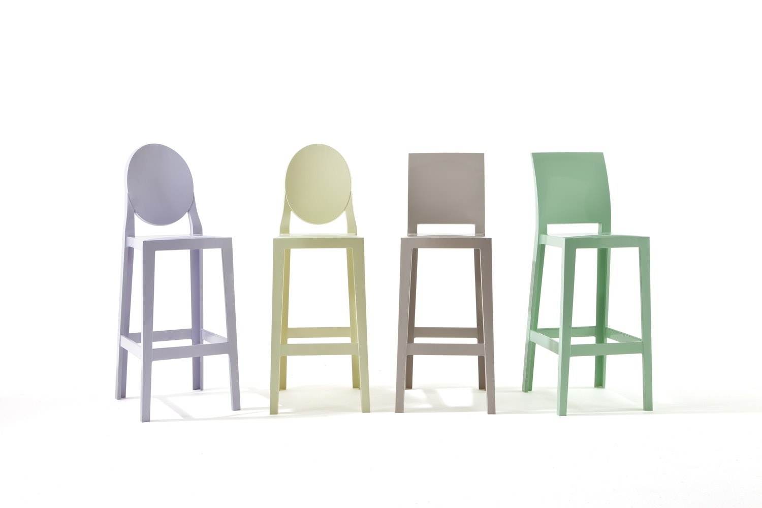 One More Low Stool by Philippe Starck for Kartell