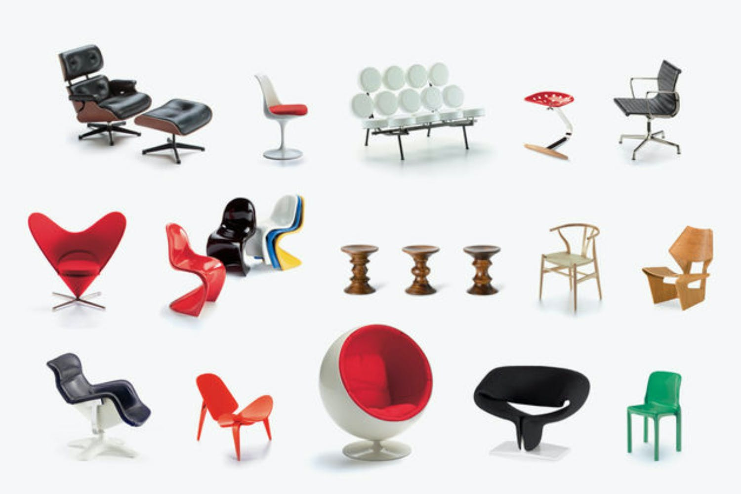 Miniatures Collection 2 by Vitra Design Museum for Vitra | Space ...