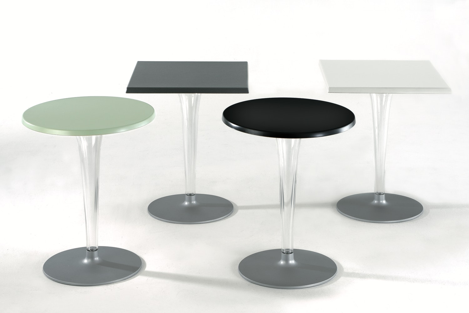 TopTop Outdoor Table with Large Round Top by Philippe Starck with Eugeni Quitllet for Kartell
