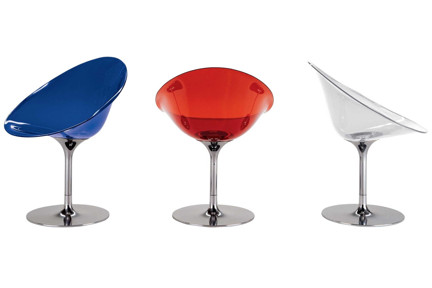 Ero|S| Swivel Chair by Philippe Starck for Kartell