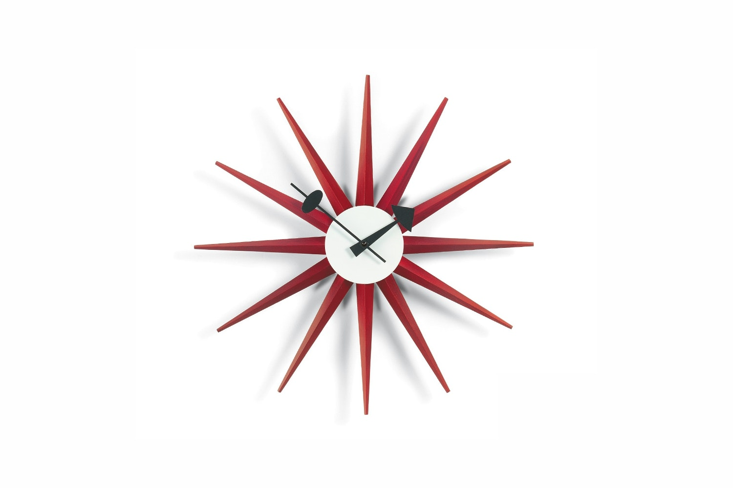 Sunburst Clock by George Nelson for Vitra