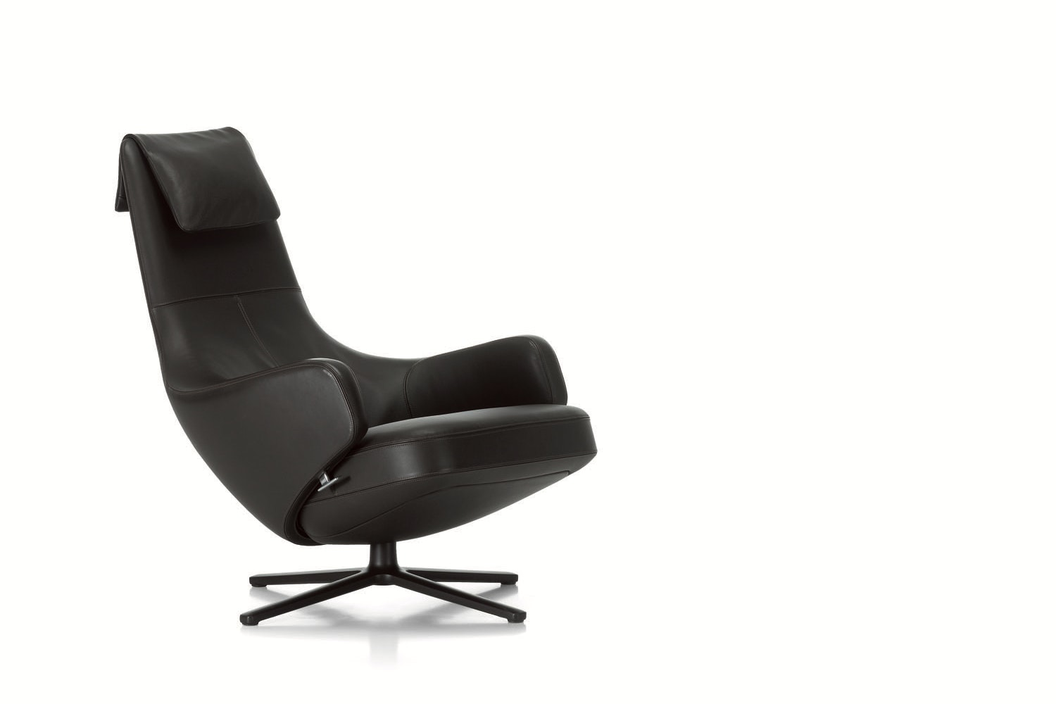 Repos Leather Armchair by Antonio Citterio for Vitra