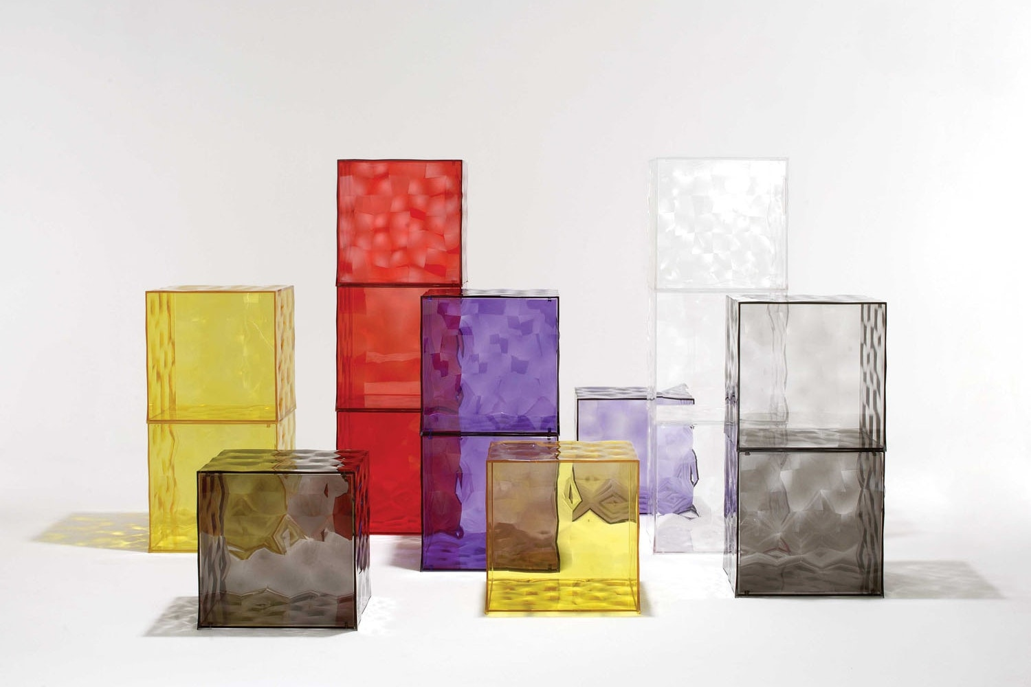 Optic with Door Storage Unit by Patrick Jouin for Kartell