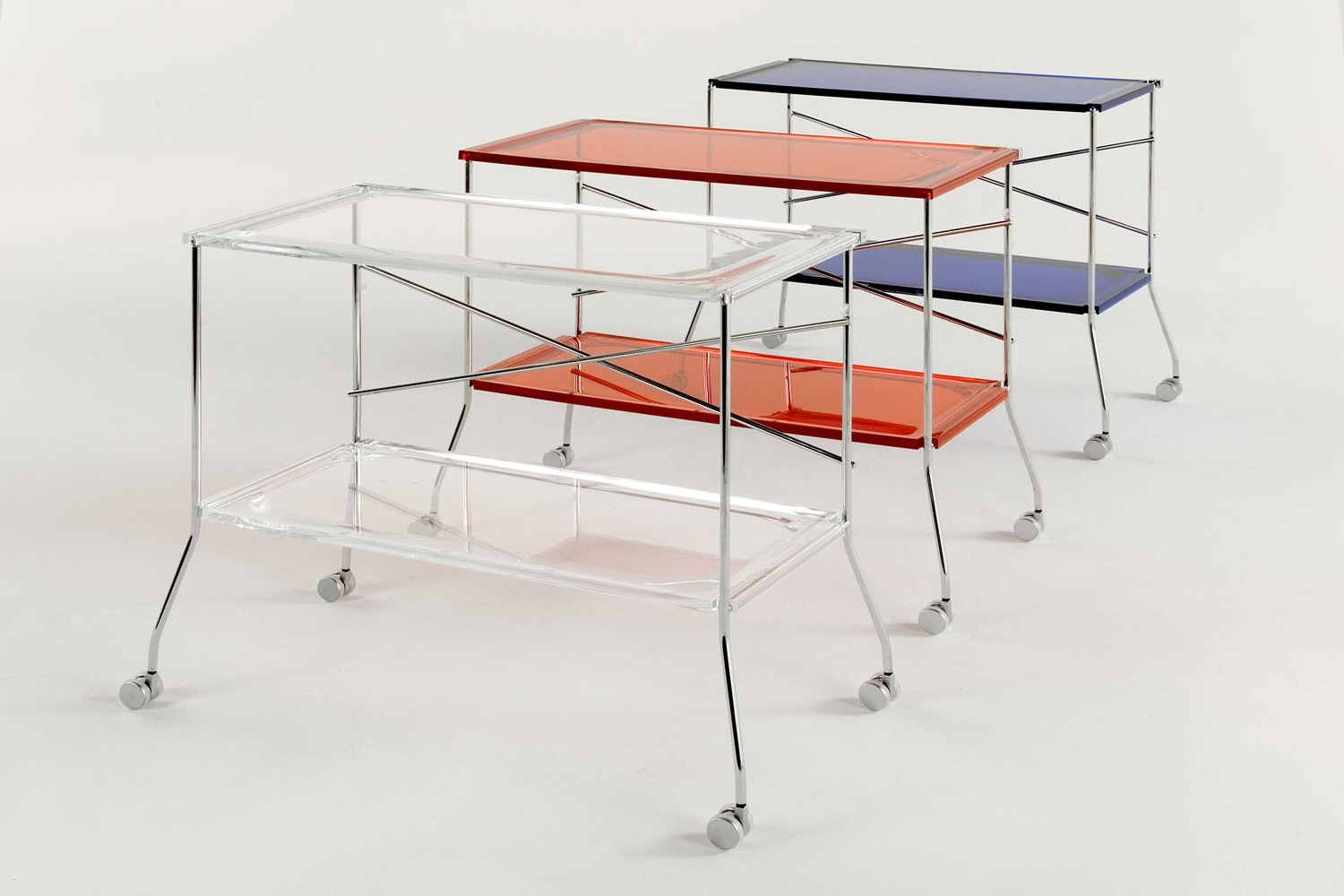 Flip Trolley by Antonio Citterio with Toan Nguyen for Kartell