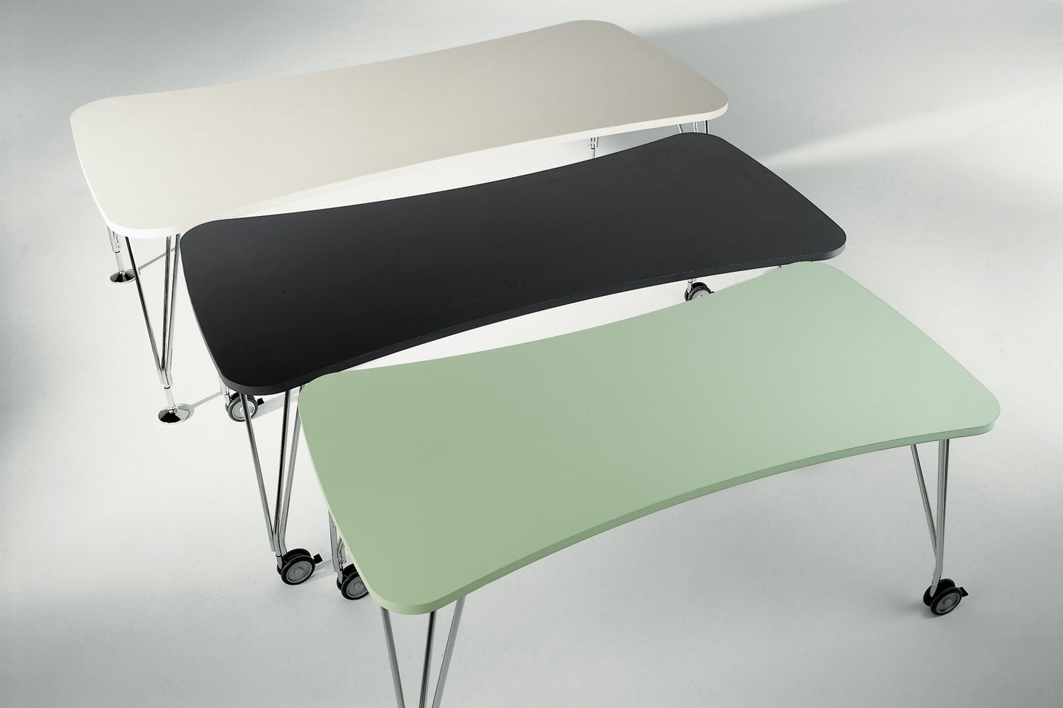 Max Small Table on Castors by Ferruccio Laviani for Kartell