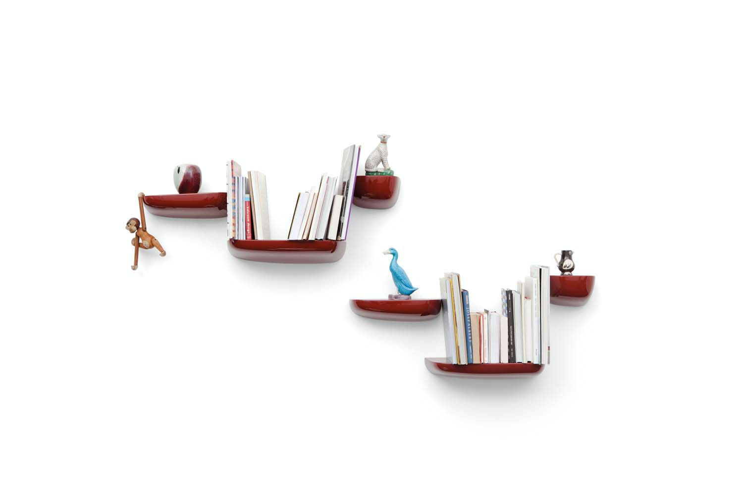 Corniches Medium Wall Mounted Storage by Ronan & Erwan Bouroullec for Vitra