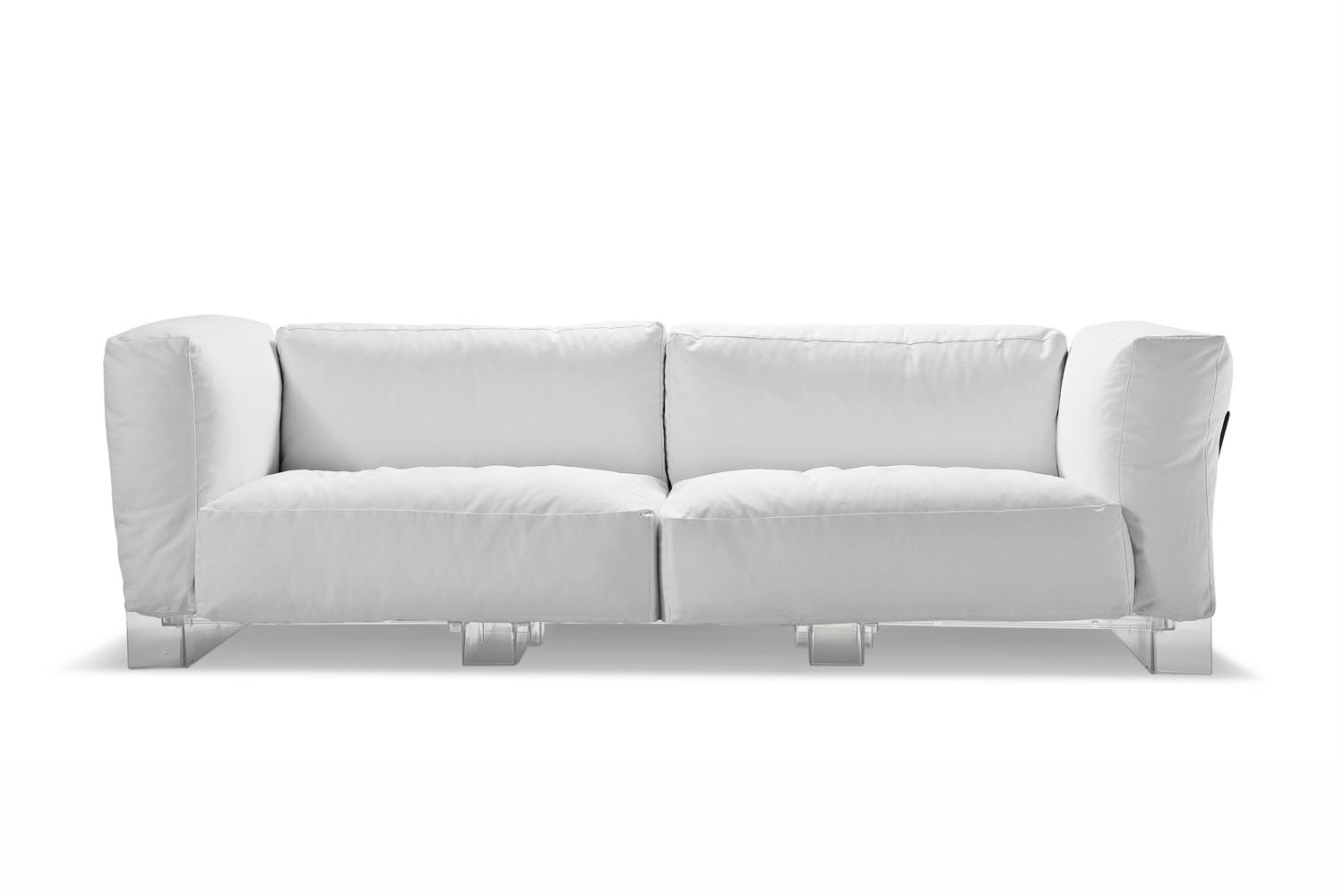 Pop Duo Sofa Transparent by Piero Lissoni with Carlo Tamborini for Kartell