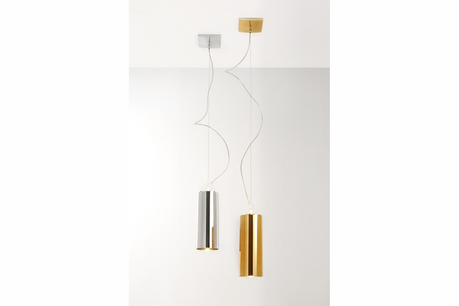 Easy Metallic Suspension Lamp by Ferruccio Laviani for Kartell