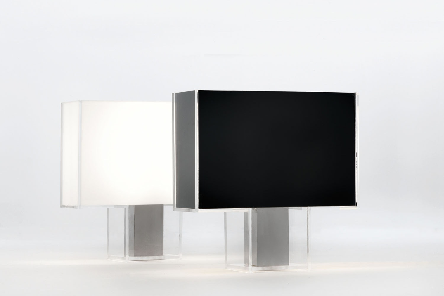 Tati Black Table Lamp by Ferruccio Laviani for Kartell