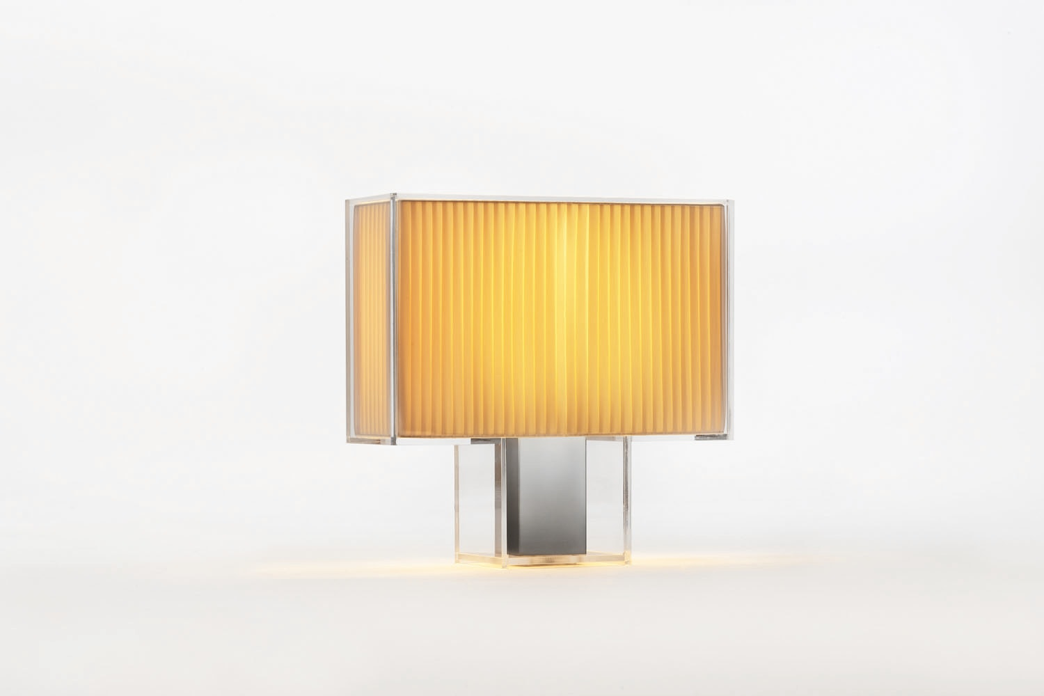 Tati Pleated Table Lamp by Ferruccio Laviani for Kartell