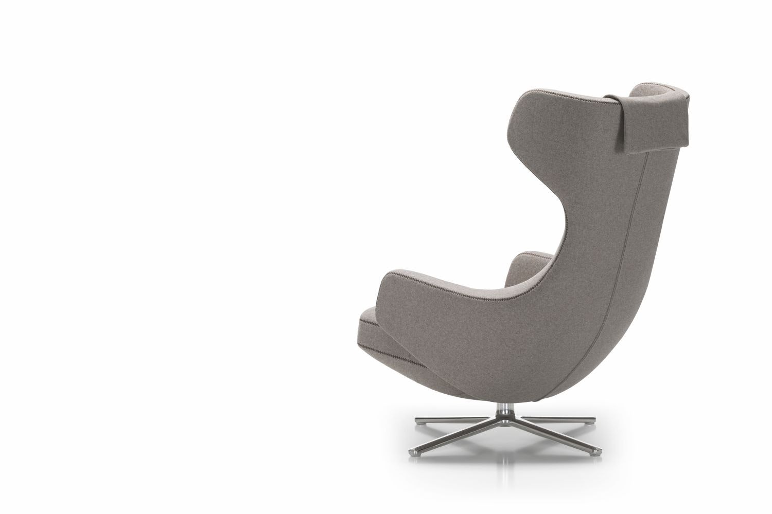 Grand Repos Leather Armchair by Antonio Citterio for Vitra