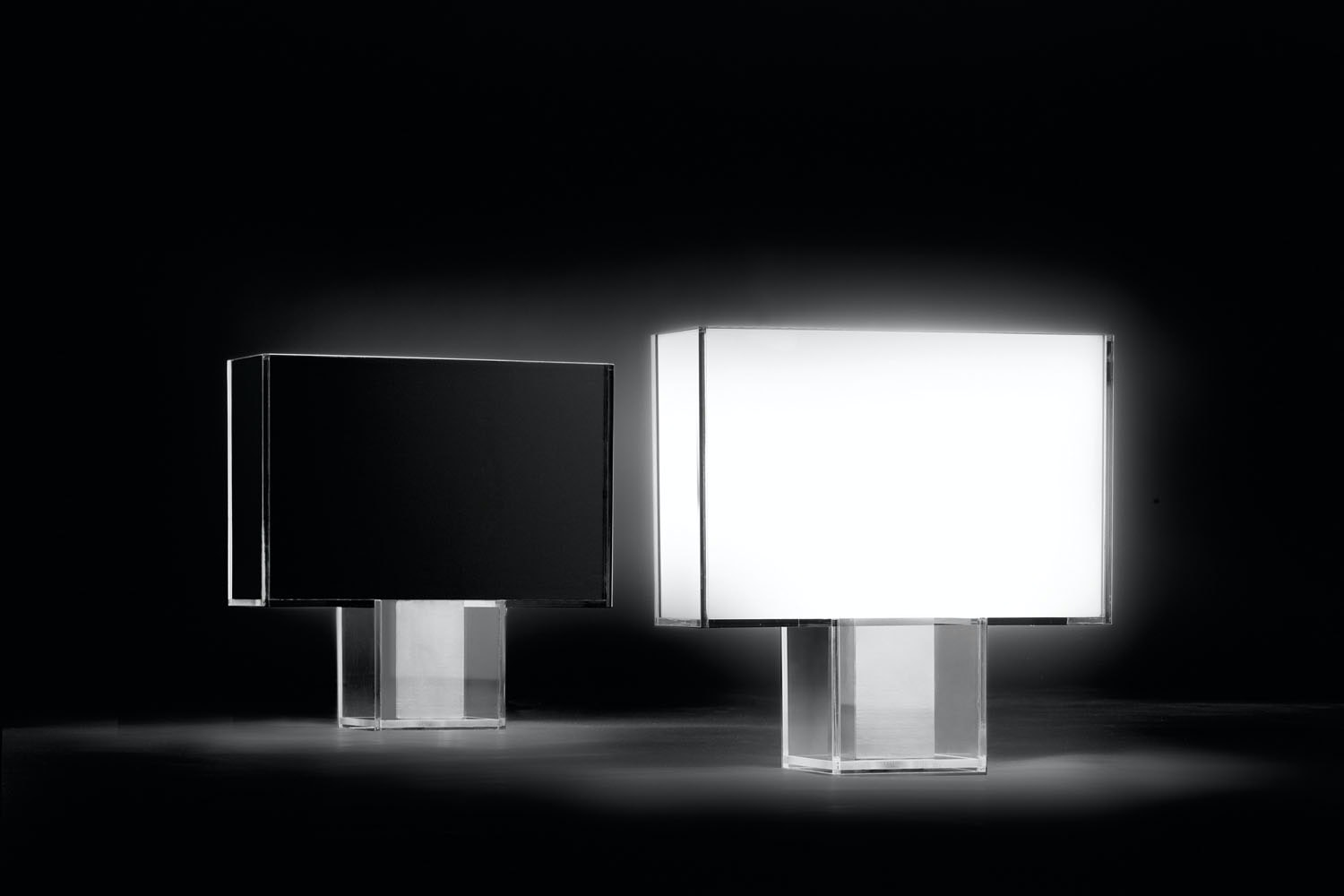 Tati White Table Lamp by Ferruccio Laviani for Kartell
