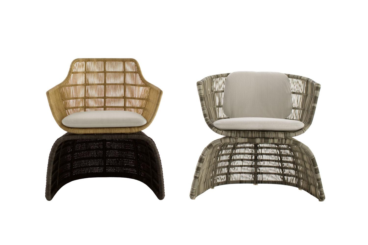 Crinoline Armchair by Patricia Urquiola for B&B Italia