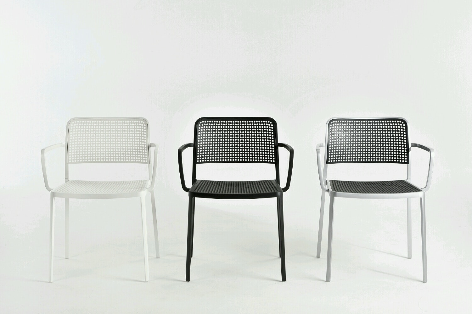 Audrey Chair with Arms by Piero Lissoni for Kartell