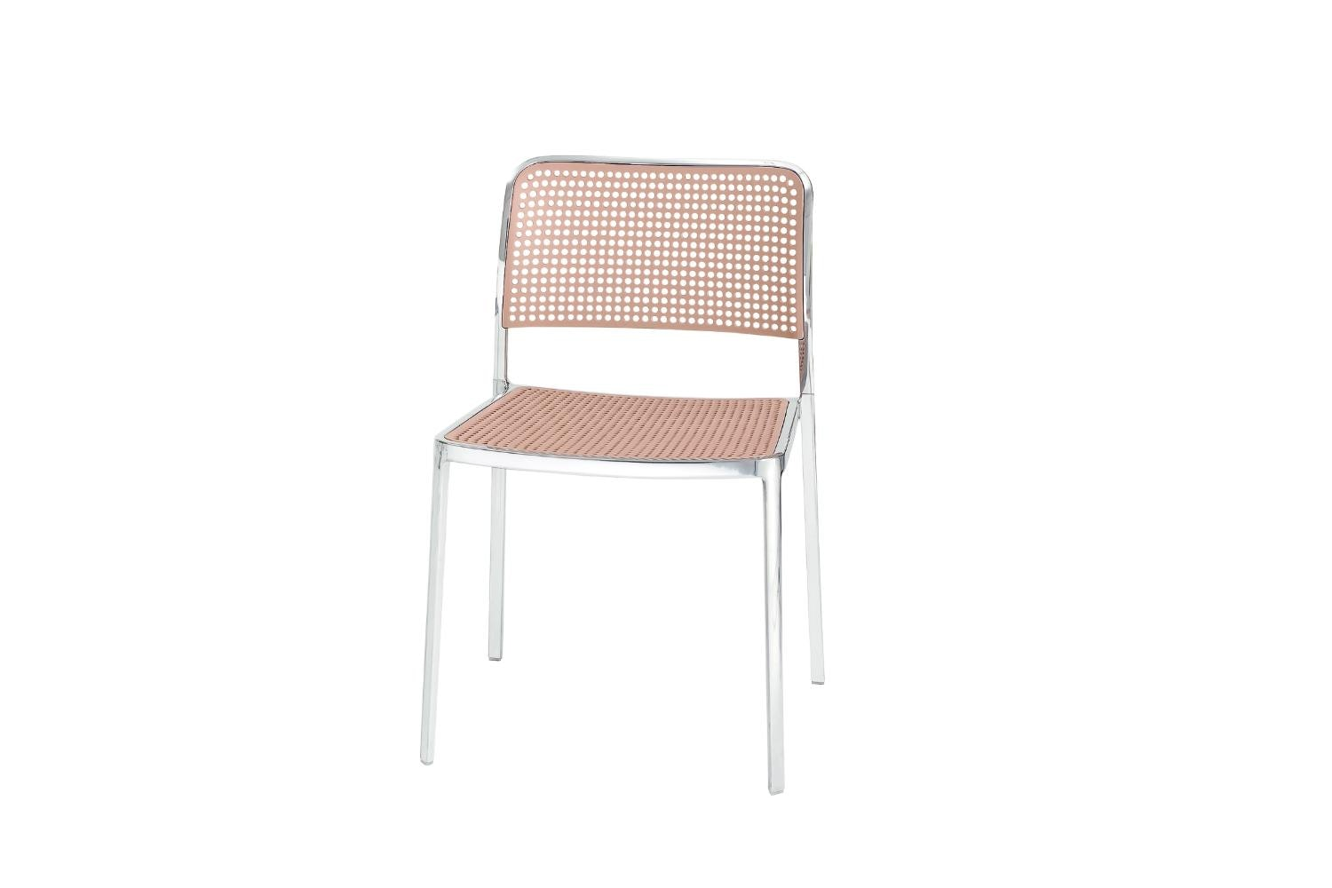 Audrey Shiny Chair by Piero Lissoni for Kartell