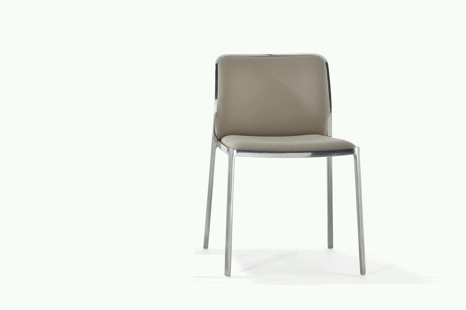 Audrey Soft Shiny Chair by Piero Lissoni for Kartell