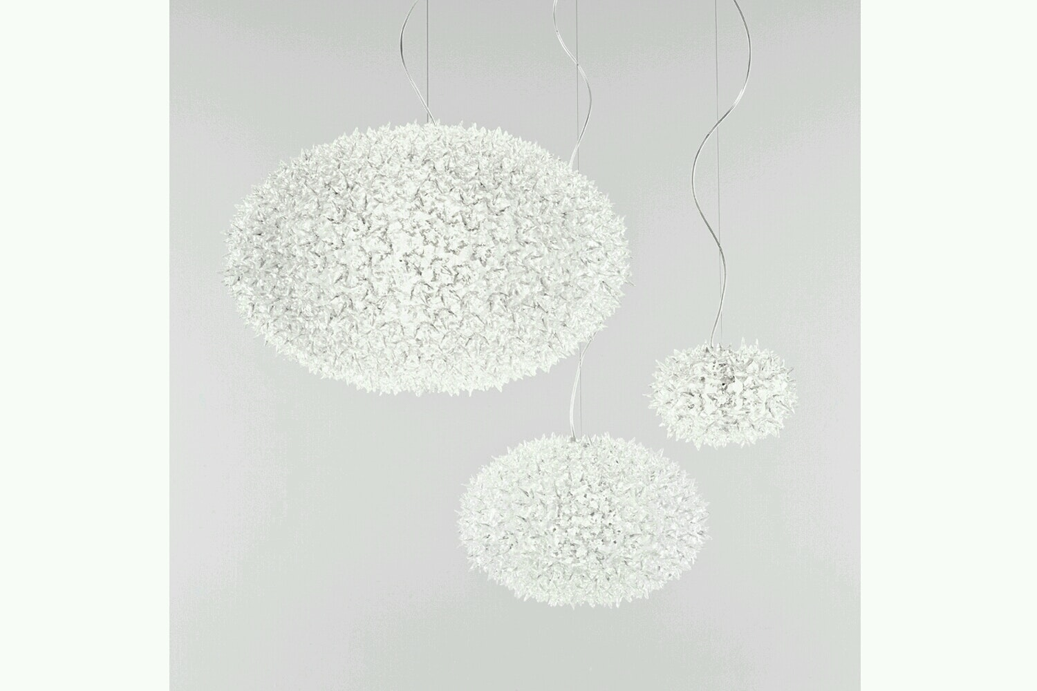 Bloom New Small Suspension Lamp by Ferruccio Laviani for Kartell