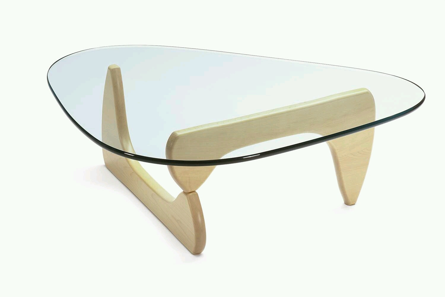 Noguchi Coffee Table Maple by Isamu Noguchi for Vitra