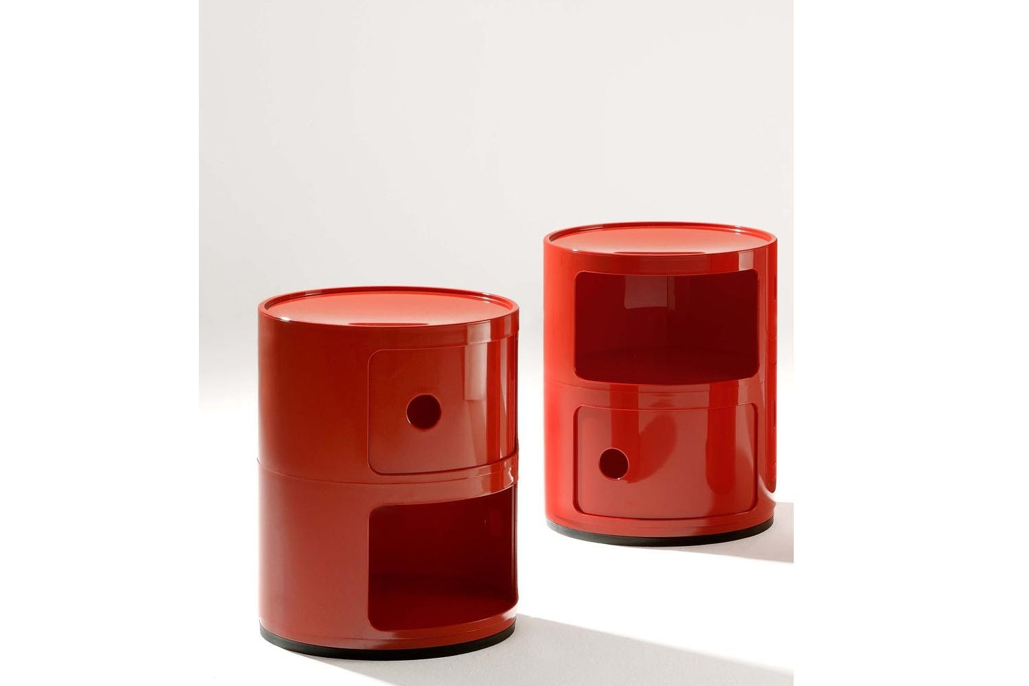 Componibili 2 Round Elements by Anna Castelli Ferrieri for Kartell