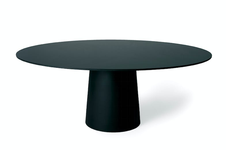 Container Table HPL Round 160cm by Marcel Wanders for Moooi