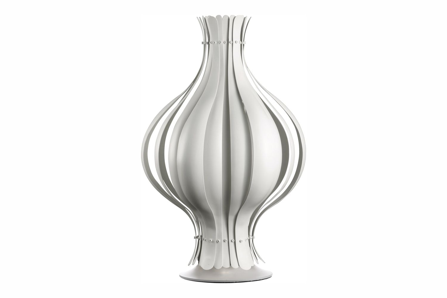 Onion Table Lamp in White by Verner Panton for Verpan
