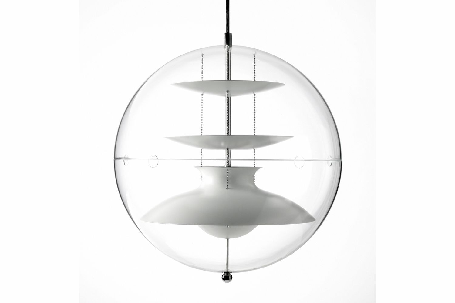 Panto Small Pendant Lamp by Verner Panton for Verpan