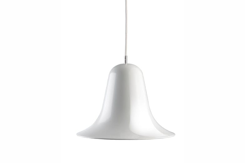 Pantop Pendant Lamp in White by Verner Panton for Verpan