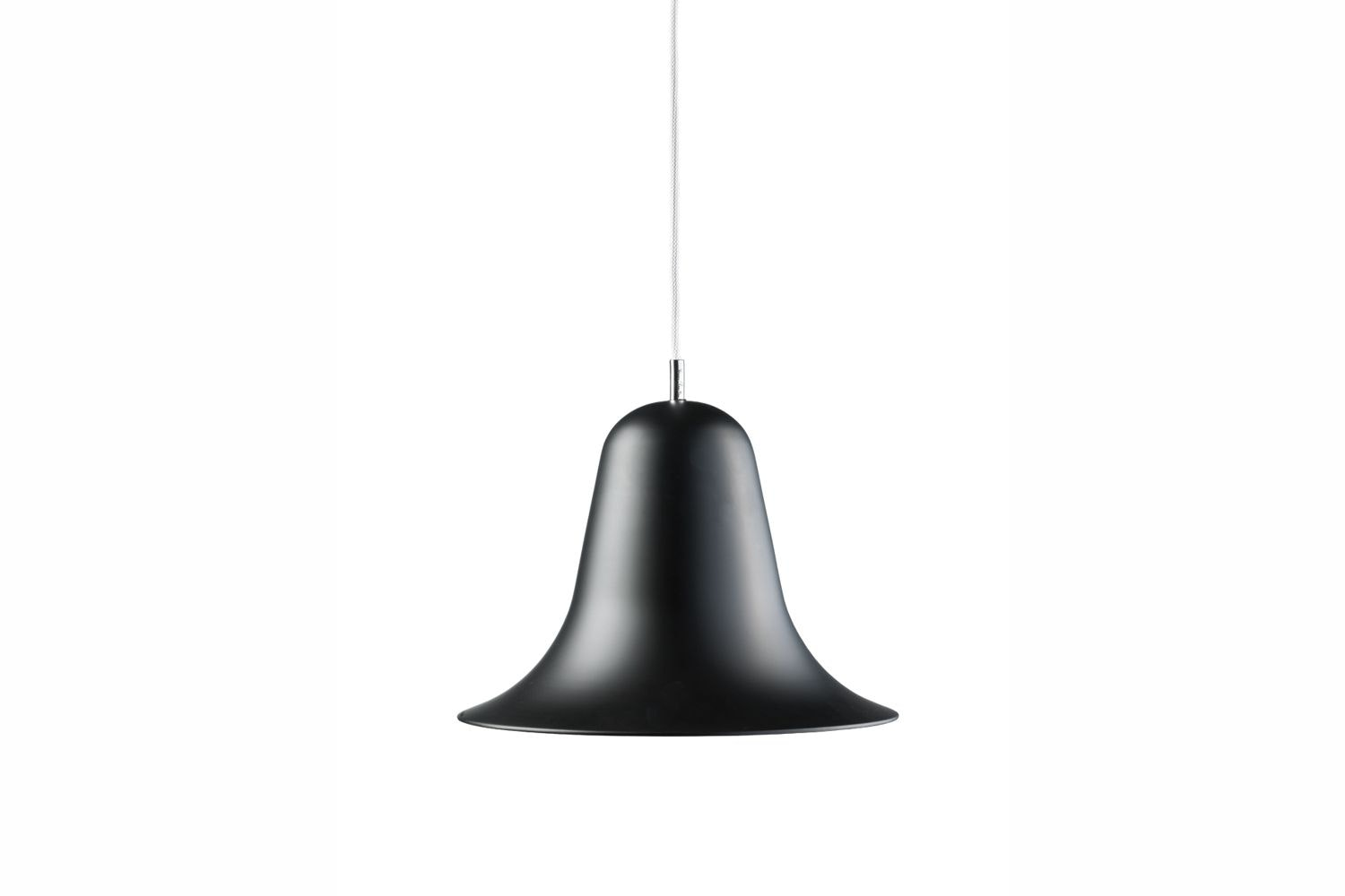 Pantop Pendant Lamp in Black by Verner Panton for Verpan