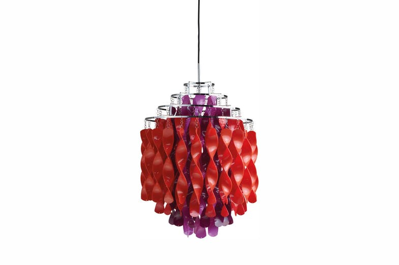 Spiral Pendant Lamp in Multicolour by Verner Panton for Verpan