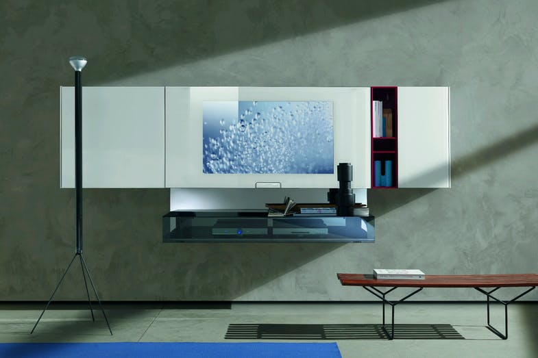 N.C. Smartwall Wall Mounted Storage Unit by Massimo Castagna for Acerbis